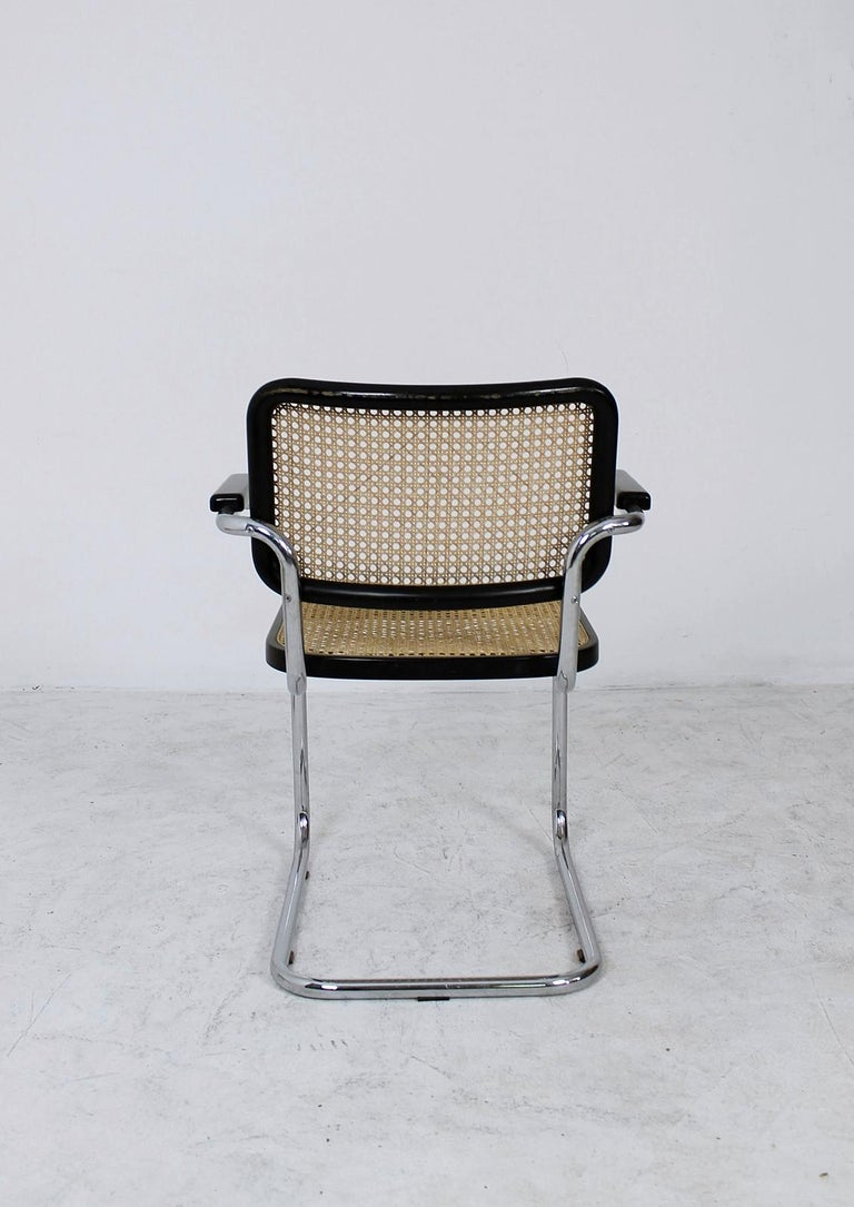 20th Century Thonet Cantilever Armchair Model B64 by Marcel Breuer, 1927 For Sale