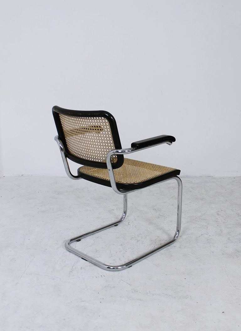 Steel Thonet Cantilever Armchair Model B64 by Marcel Breuer, 1927 For Sale
