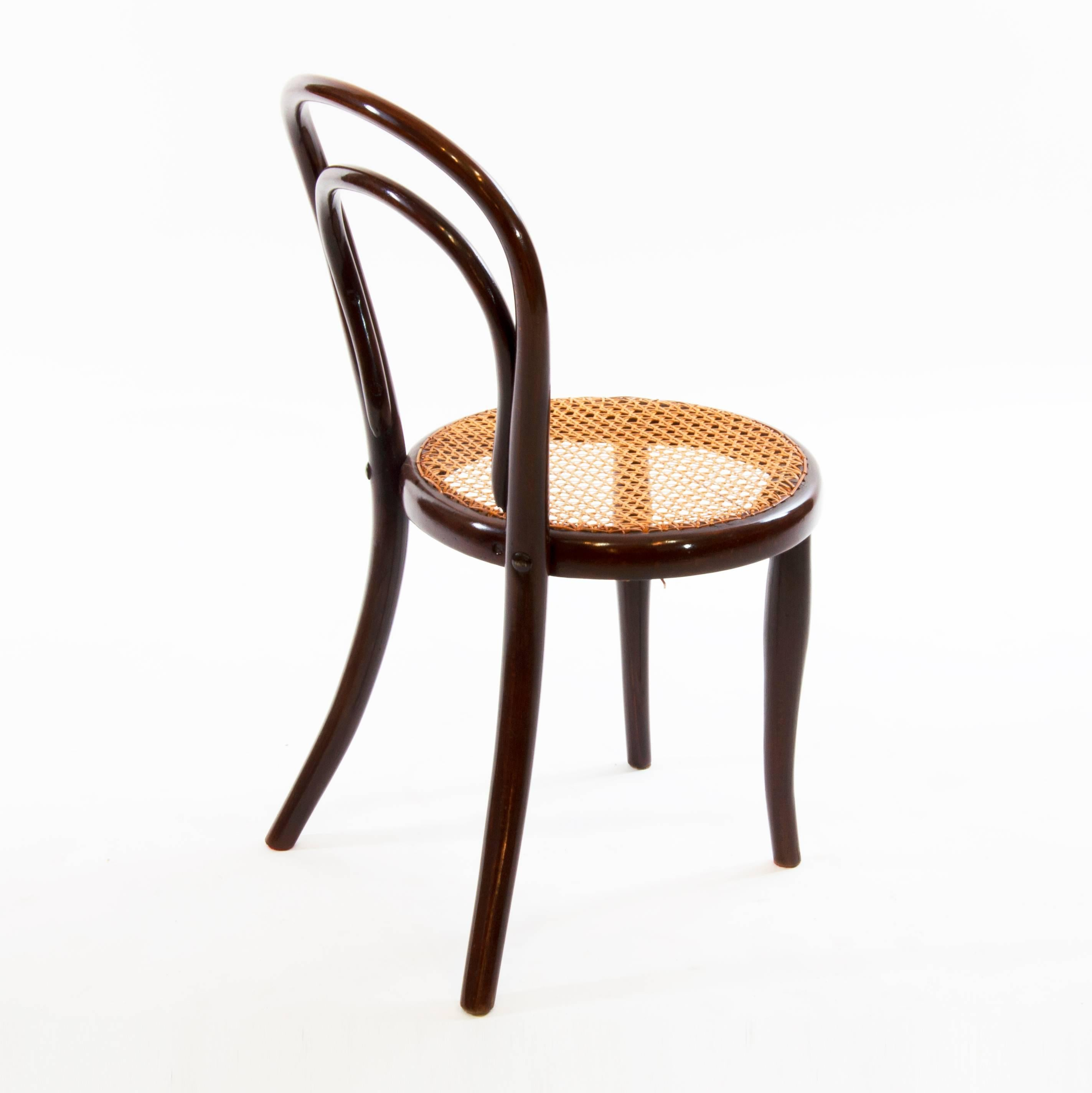 Very Rare, Antique And Austrian Thonet Chair, Which Was Produced Between  1890 1900