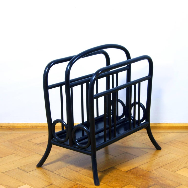 A Beautiful Example Of Thonet Newspaper Or Music Stand Mod 33