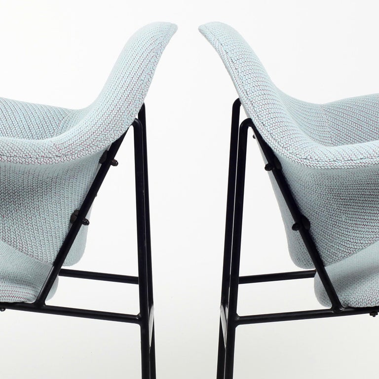 Thonet Pair of Armchairs 1950's France For Sale 9