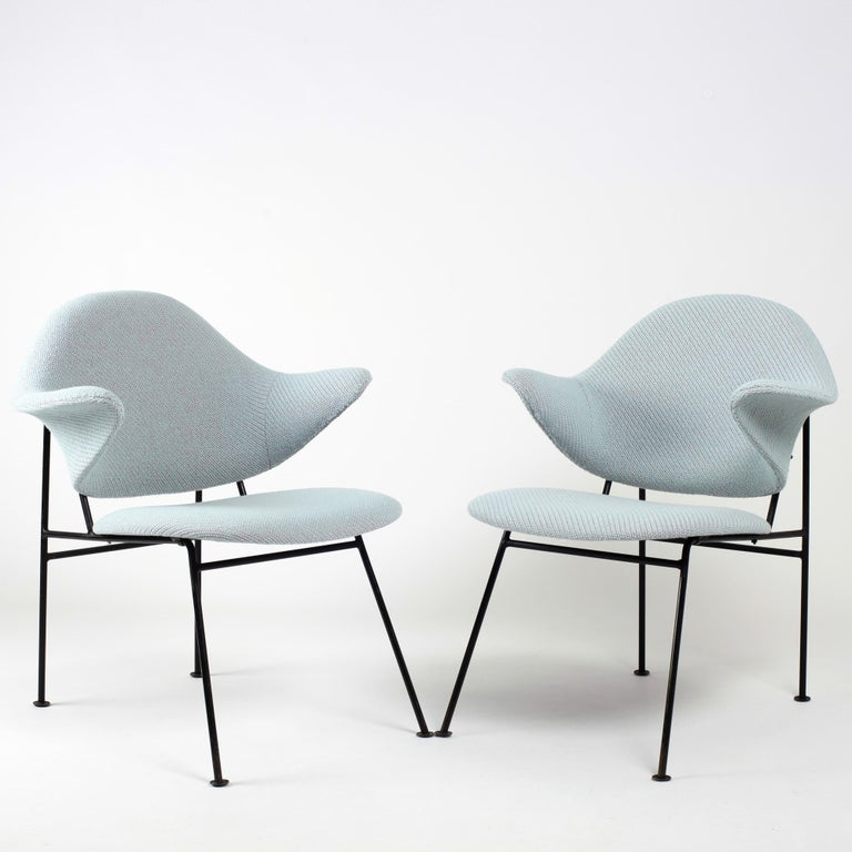 A pair of armchairs by Thonet from 1950's seen at the