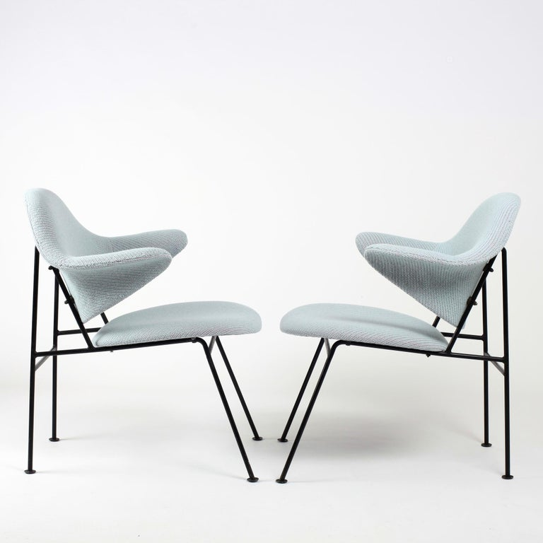 French Thonet Pair of Armchairs 1950's France For Sale