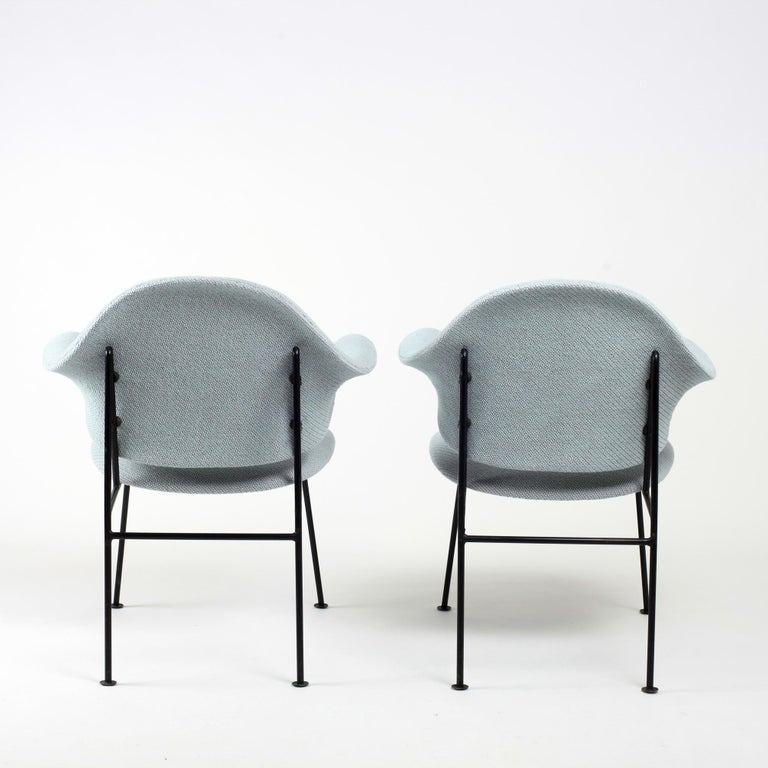 Mid-20th Century Thonet Pair of Armchairs 1950's France For Sale