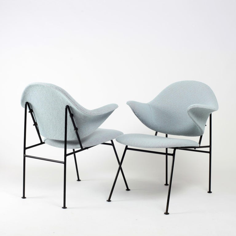 Thonet Pair of Armchairs 1950's France For Sale 1