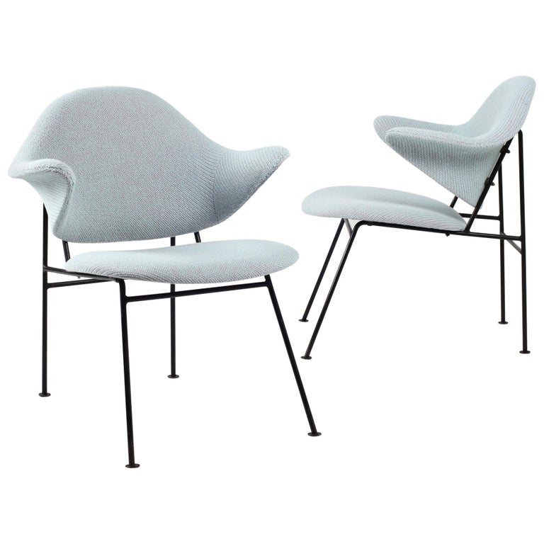 Thonet Pair of Armchairs 1950's France For Sale