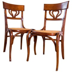 Thonet Secession Two Chairs