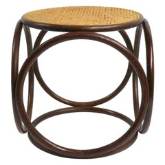Thonet Stool Side or End Table