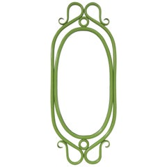 Thonet Style Bentwood Wall Mirror, circa 1960s