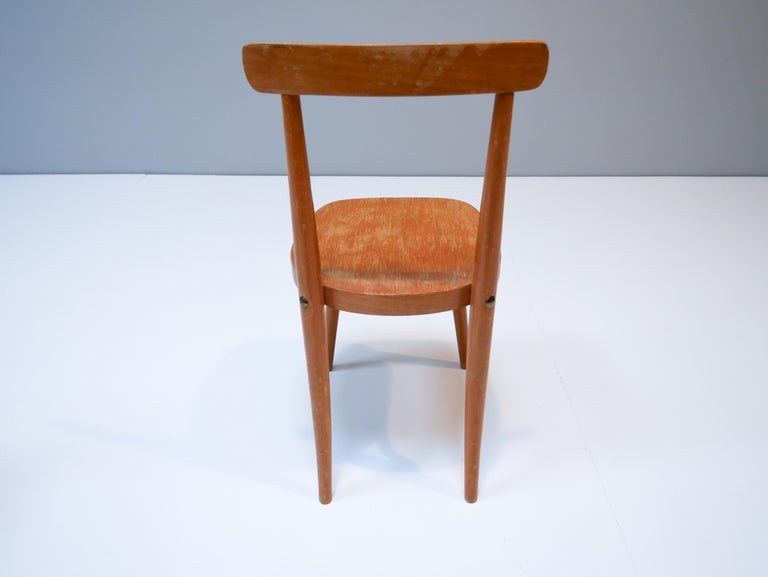 Swedish Thonet Style Children's Bentwood Chairs, 1950s, Sweden For Sale