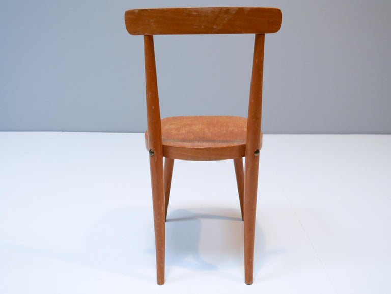 Thonet Style Children's Bentwood Chairs, 1950s, Sweden In Fair Condition For Sale In Helsingborg, Skåne