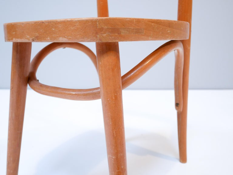 Thonet Style Children's Bentwood Chairs, 1950s, Sweden For Sale 1