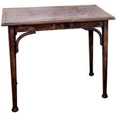 Tisch im Thonet-Stil, circa 1920er Jahre