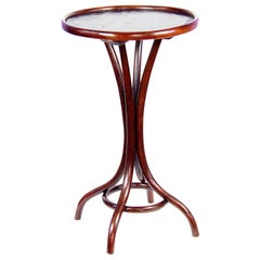 Thonet Table Nr.1 with Waxed Cloth Covered, circa 1900
