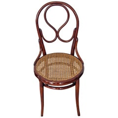Thonet Vienna Art Nouveau Chair Model 20 Made circa 1880