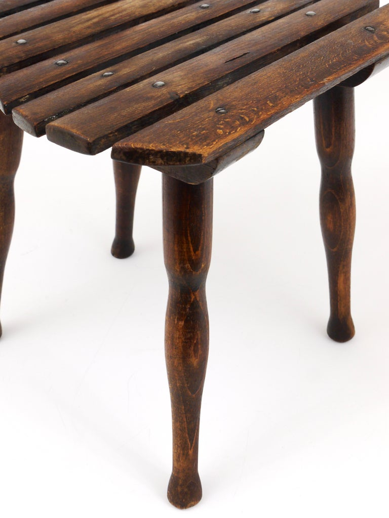 Thonet Vienna Wooden Childrens Chair, Austria, 1900s For Sale 4