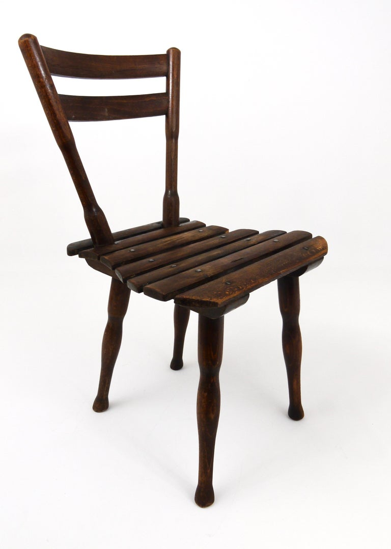 Thonet Vienna Wooden Childrens Chair, Austria, 1900s For Sale 5