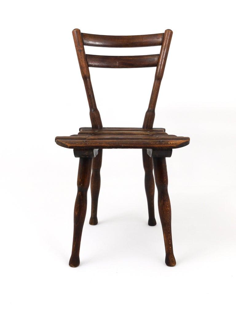 Art Nouveau Thonet Vienna Wooden Childrens Chair, Austria, 1900s For Sale