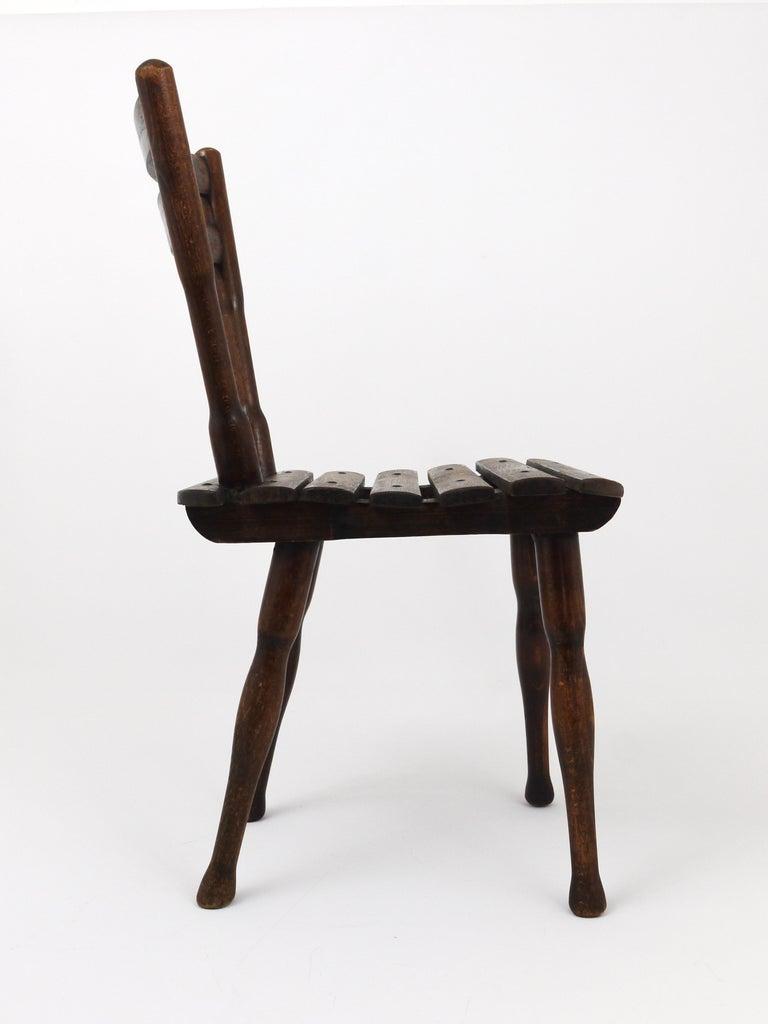 Austrian Thonet Vienna Wooden Childrens Chair, Austria, 1900s For Sale