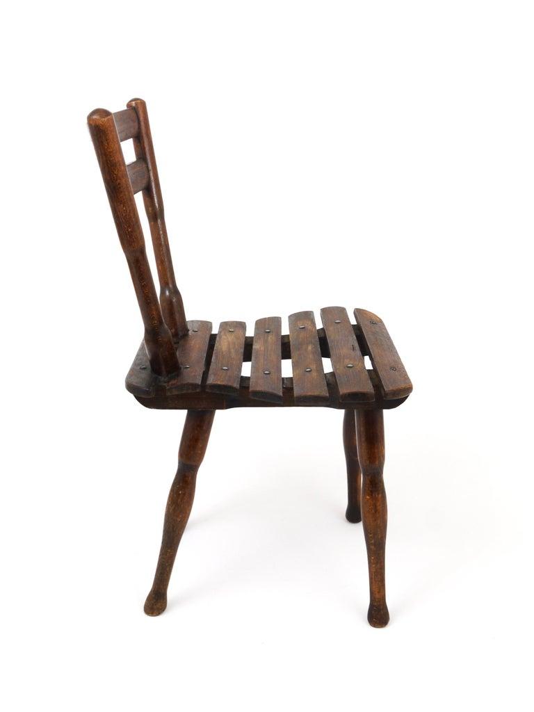 Thonet Vienna Wooden Childrens Chair, Austria, 1900s In Good Condition For Sale In Vienna, AT