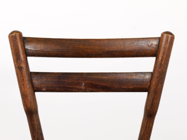 Thonet Vienna Wooden Childrens Chair, Austria, 1900s For Sale 1