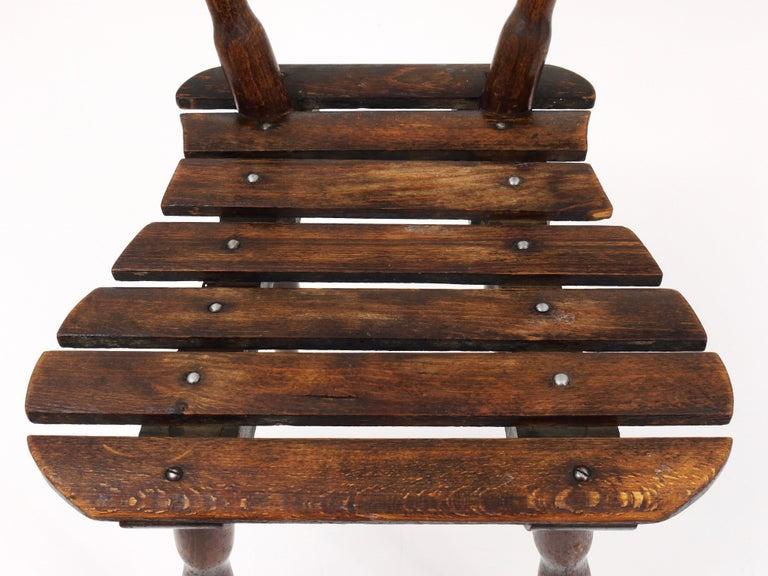 Thonet Vienna Wooden Childrens Chair, Austria, 1900s For Sale 2