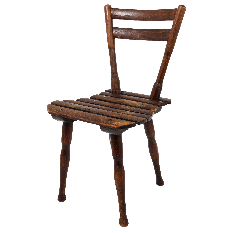 Thonet Vienna Wooden Childrens Chair, Austria, 1900s