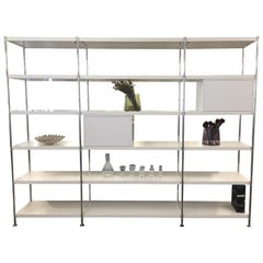 Thonet White Elegant, Simple, and Modular 7000 Shelving Unit