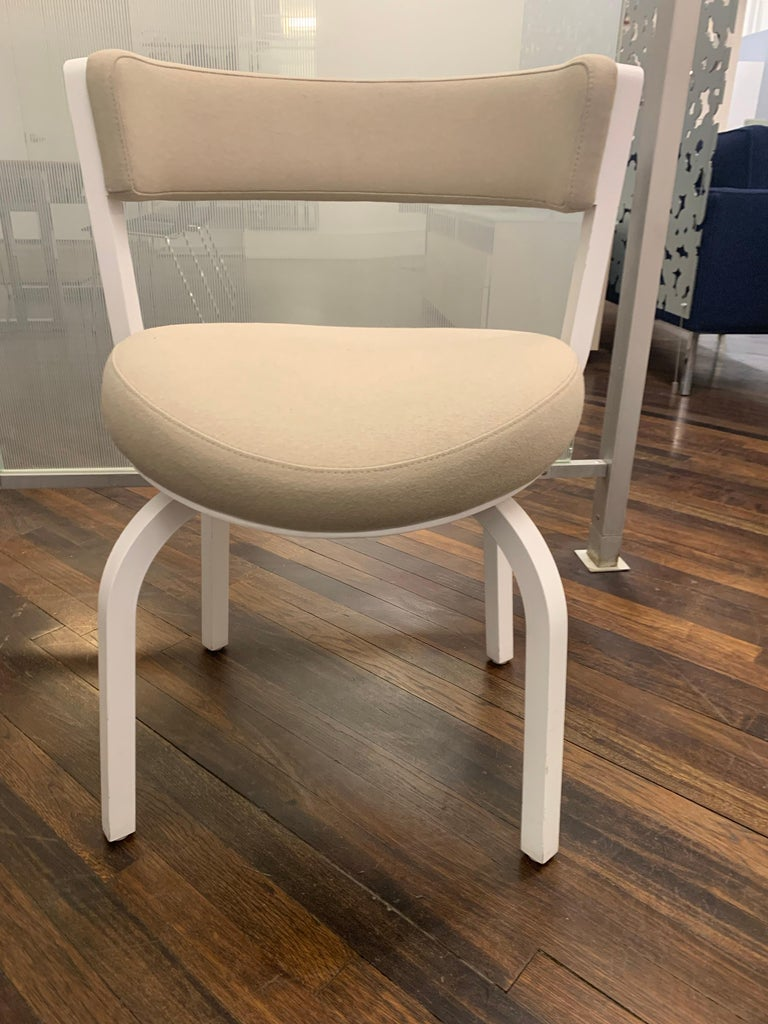German Thonet Wooden 405 PF Chair For Sale