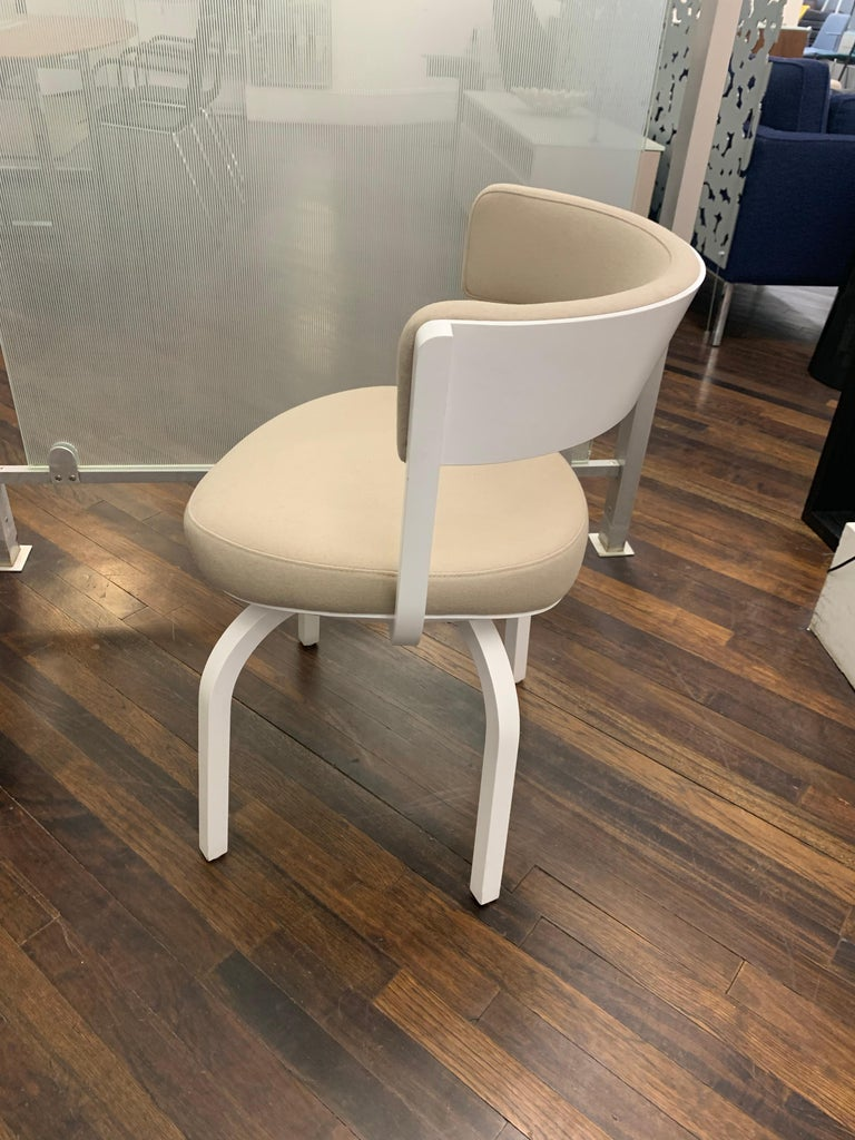 Fabric Thonet Wooden 405 PF Chair For Sale