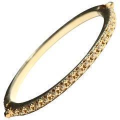 18K Gold Fractal Thoscene Bracelet