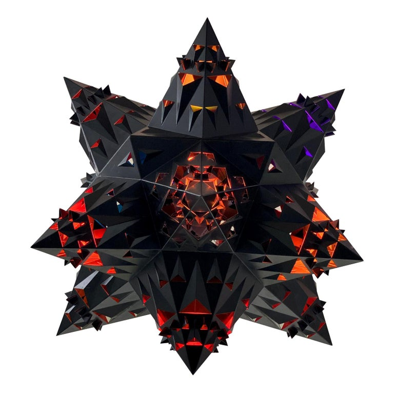 Thoscene Tetrahedron Star Chandelier For Sale