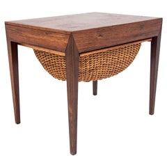Thread Table in Rosewood, Danish Design