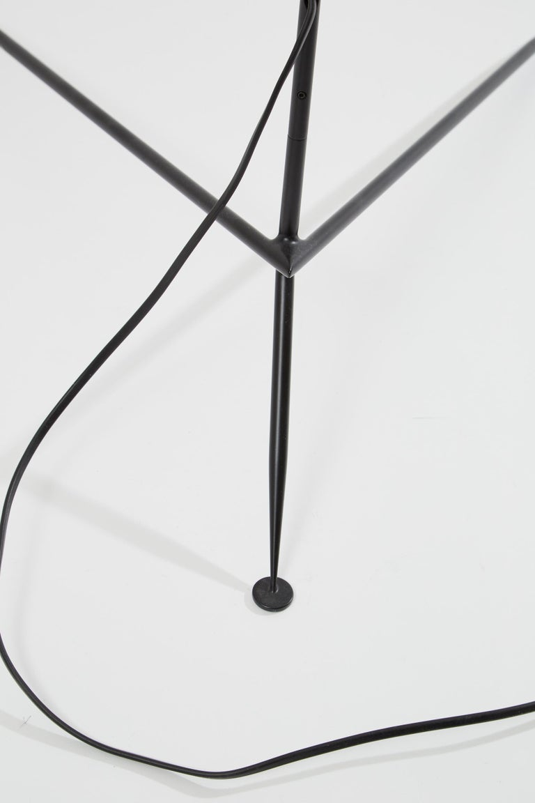 Italian Three-Arm Floor Lamp by Serge Mouille For Sale