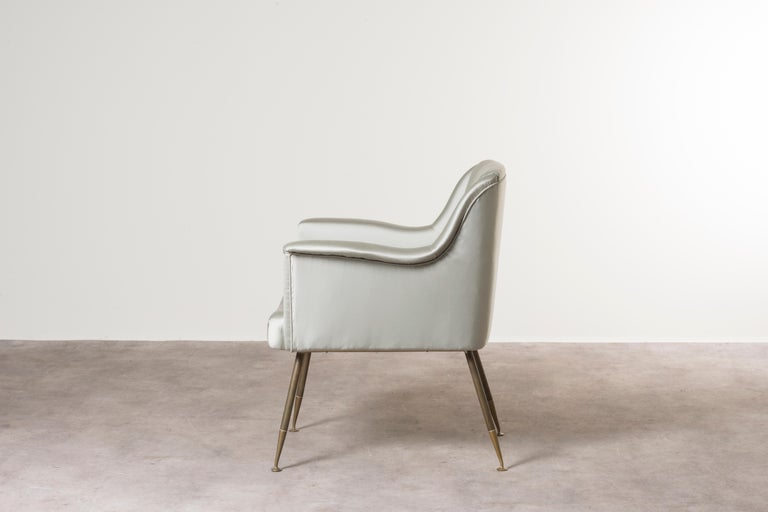 Three Armchairs Mod, Camelia by Carlo Pagani In Good Condition For Sale In Milan, IT