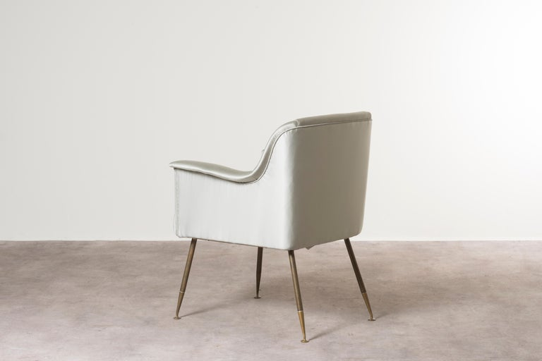 Mid-20th Century Three Armchairs Mod, Camelia by Carlo Pagani For Sale