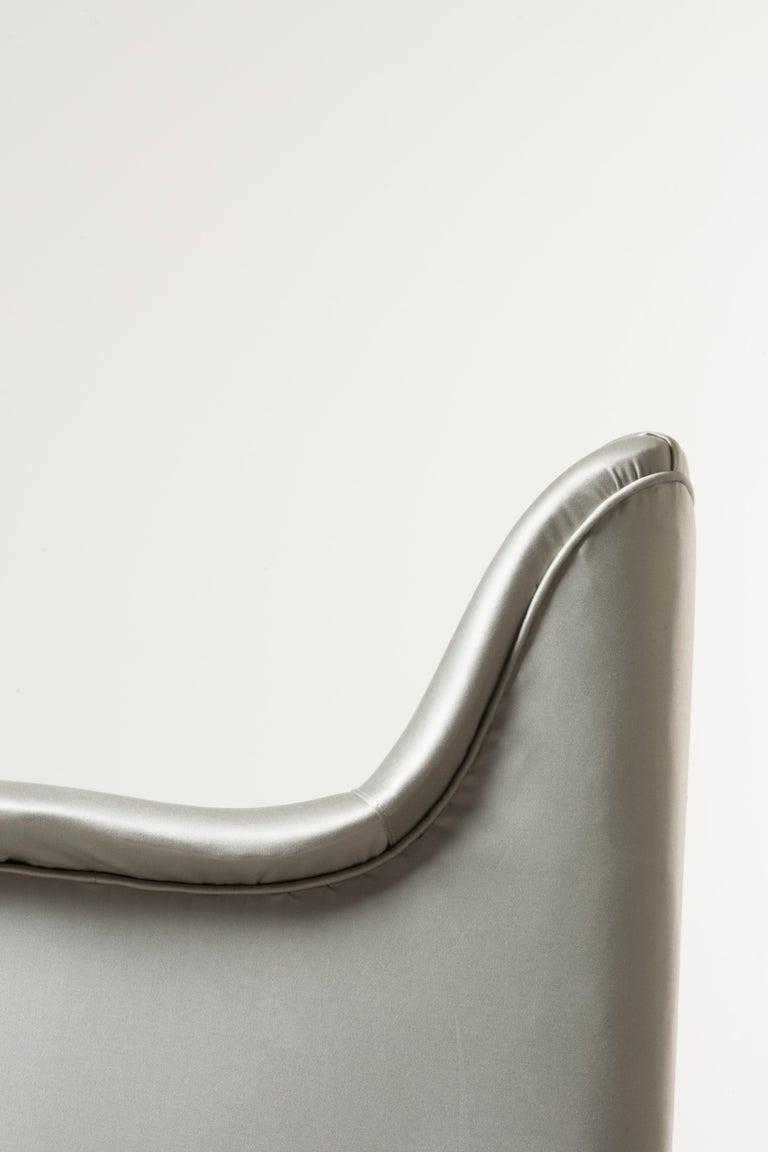 Three Armchairs Mod, Camelia by Carlo Pagani For Sale 2