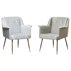 Three Armchairs Mod, Camelia by Carlo Pagani
