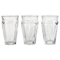 Three Baccarat Nelly Cut Crystal Vases