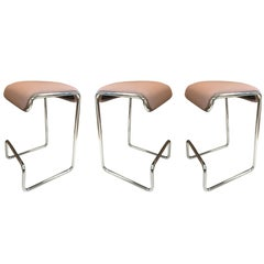 Three Bar Stools by Design Institute of America