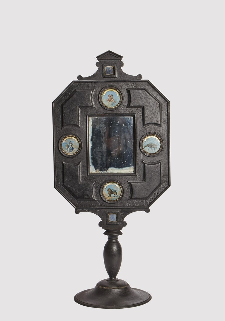 Italian Three Big Mirrors with Zodiac Signs, Italy, 1800 For Sale