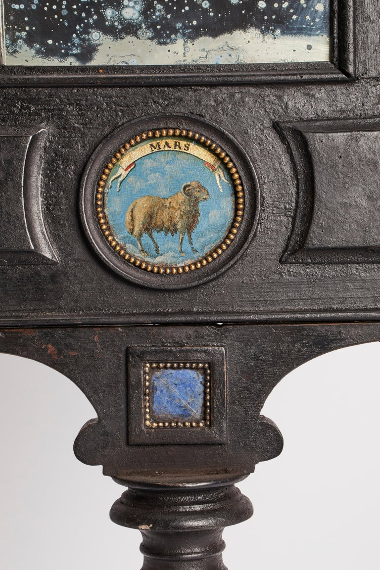 Three Big Mirrors with Zodiac Signs, Italy, 1800 For Sale 1
