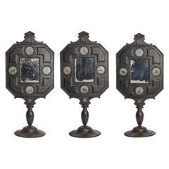 Three Big Mirrors with Zodiac Signs, Italy, 1800