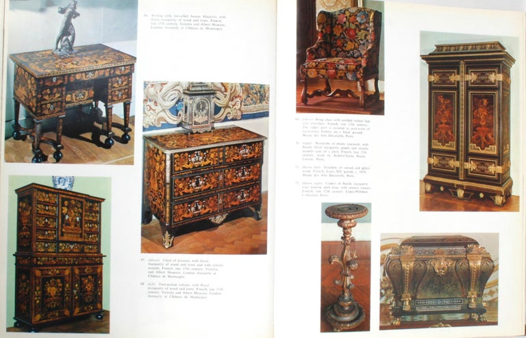 Paper Three Centuries of Furniture in Color, by H.D. Molesworth, 1st Edition For Sale
