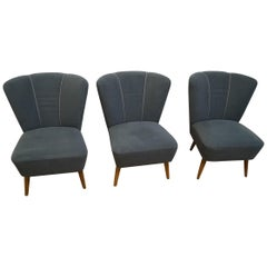 Three Club Armchairs Design from 1960
