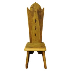 Three Diamonds Throne Chair