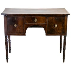 Three-Drawer English Mahogany Server