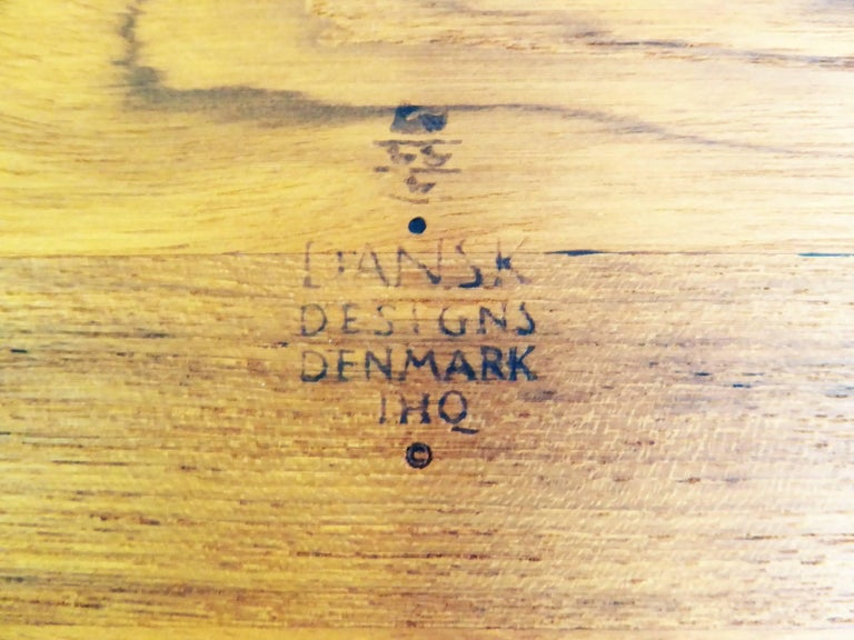 Three Early Jens Quistgaard Dansk Fjord Teak Trays Denmark For Sale 3
