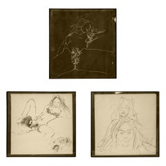Three Erotic Lithographs by John Lennon