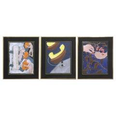 Three Figurative Paintings by John Newling